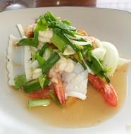 Thailändsk skaldjurssallad